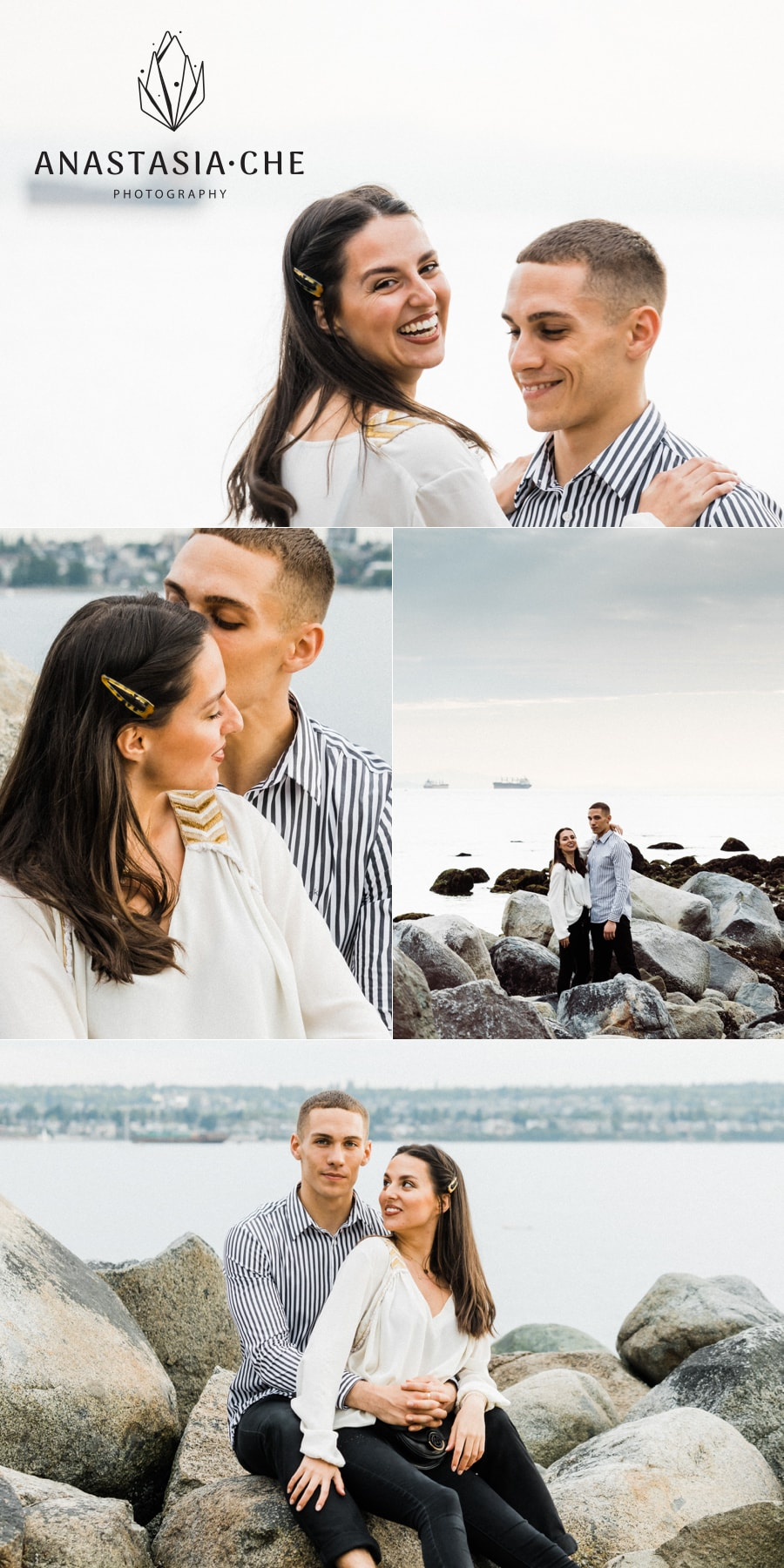Engagement photo session in Vancouver