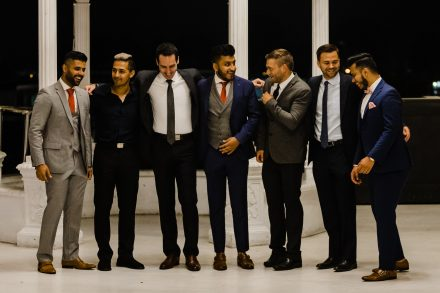 Groom's party